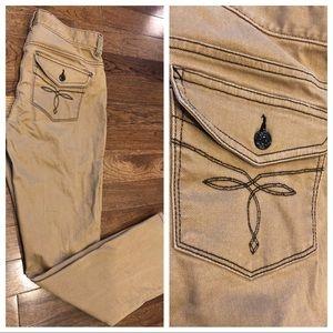 RALPH LAUREN Embroidered Back Pocket Jeans